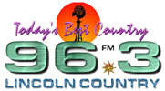 WLCN 96.3 FM plays Today's Best Country from 4 AM to 6 PM